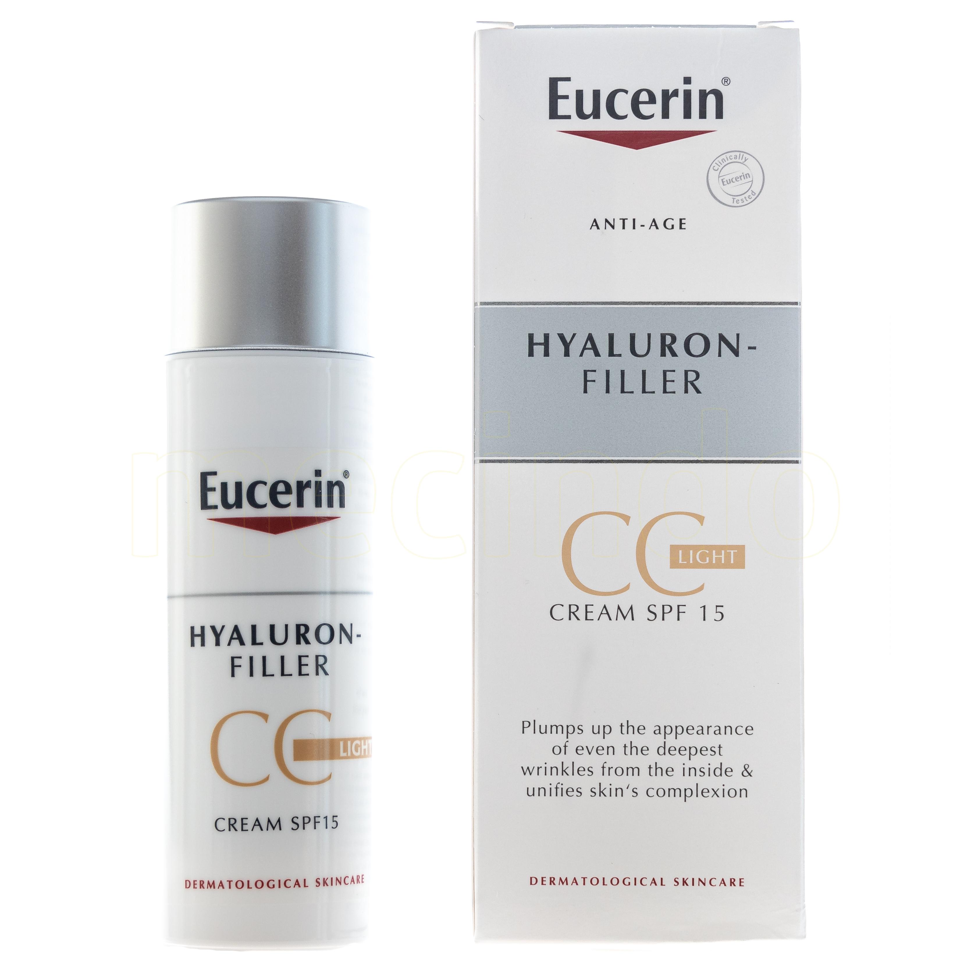 Eucerin Hyaluron Filler CC-Cream Light - 50 ml