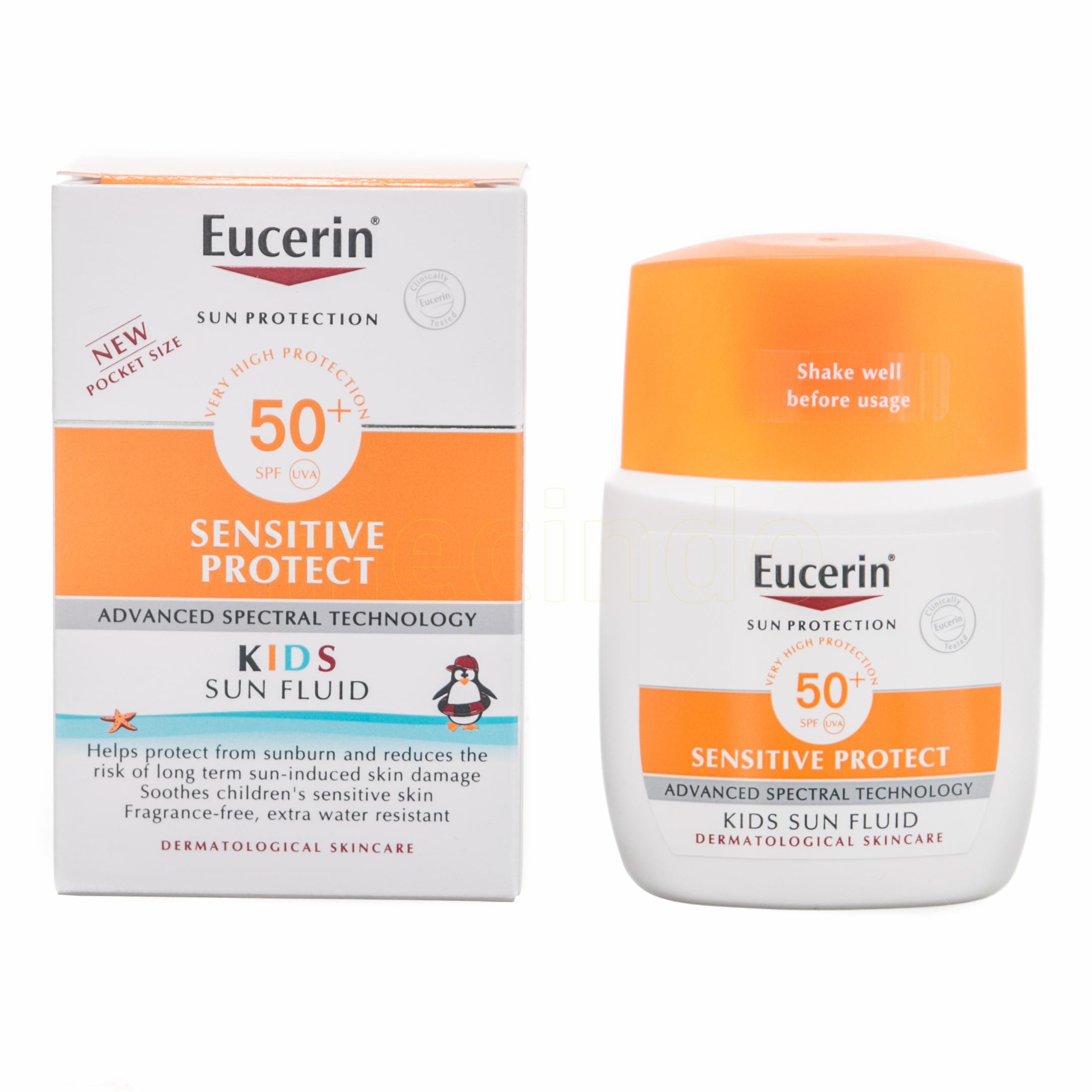 Eucerin Sun Fluid Kids SPF50+ – 50 SPF – 50 ml