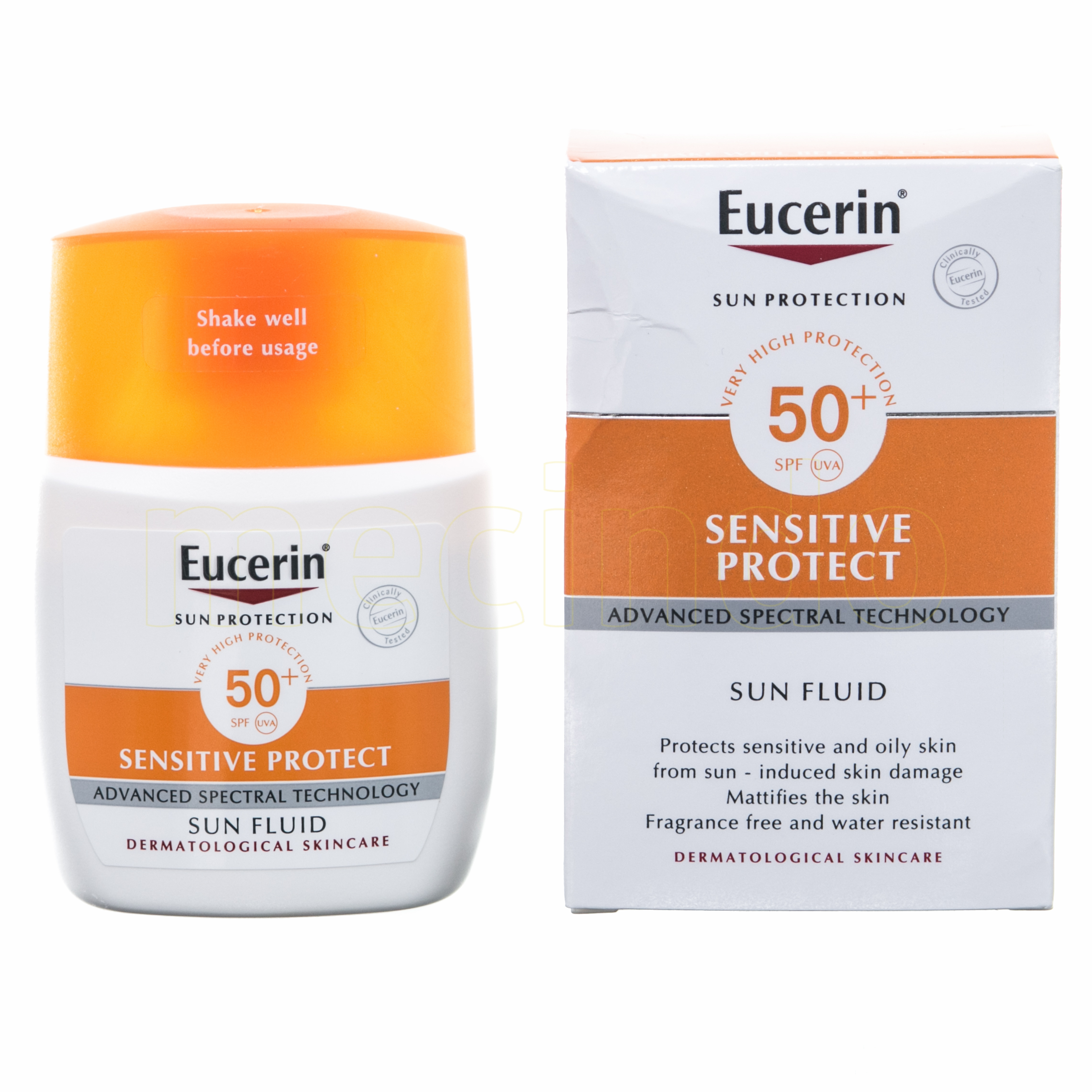 Eucerin Sun Fluid Mattifying SPF50 – 50 SPF – 50 ml