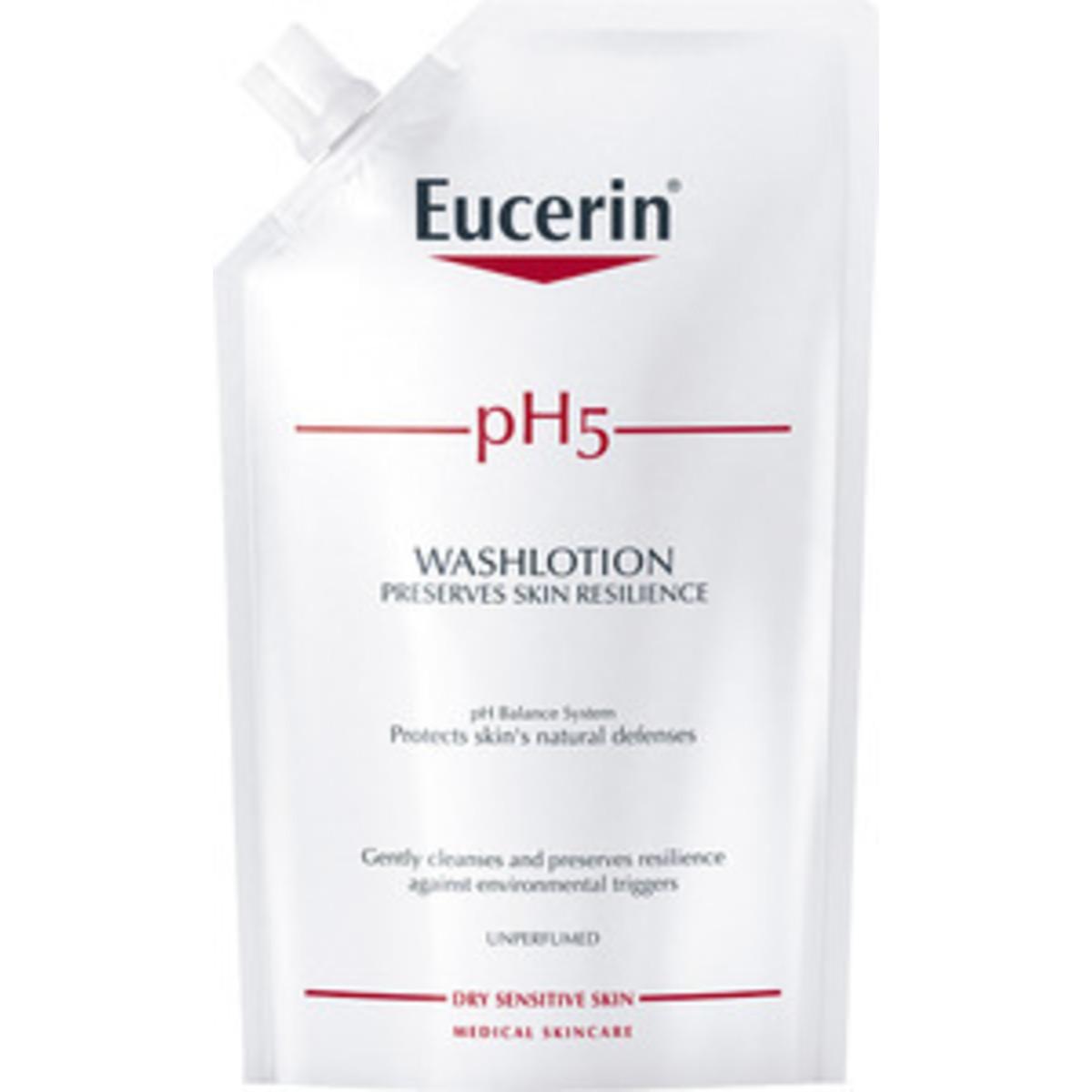 Eucerin Ph5 Washlotion Refill Oparfymerad - 400 ml