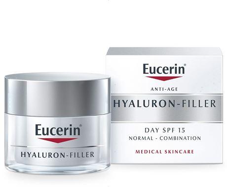Eucerin Hyaluron-Filler Day For Normal/Combination Skin – 15 SPF – 50 ml