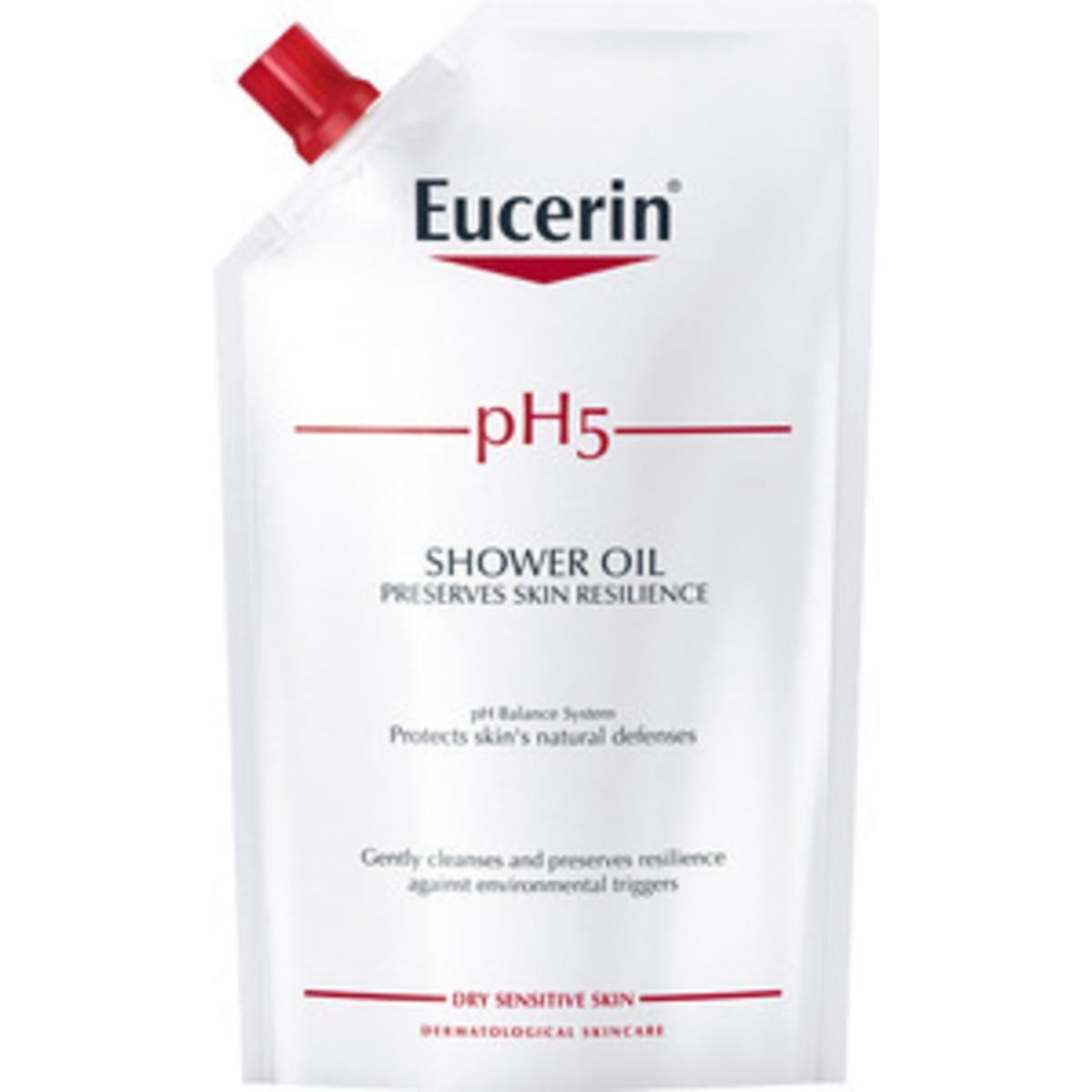 Eucerin pH5 Shower Oil Refill – Parfumeret – 400 ml