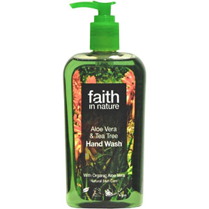 Faith in Nature Aloe Vera & Tea Tree Hand Wash - 300 ml