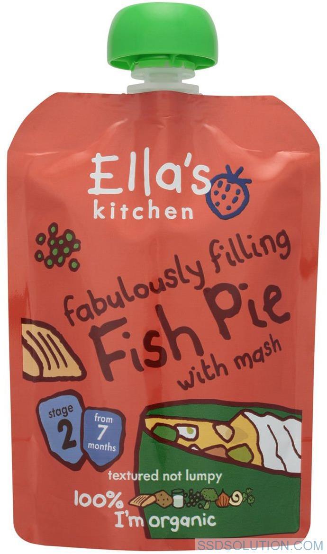 Ellas Kitchen Fiskpaj - 130 Gram