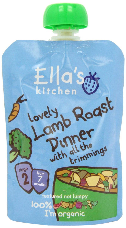 Ellas Kitchen Pur? p? Lamm, Potatis och Gr?nsaker - 130 Gram