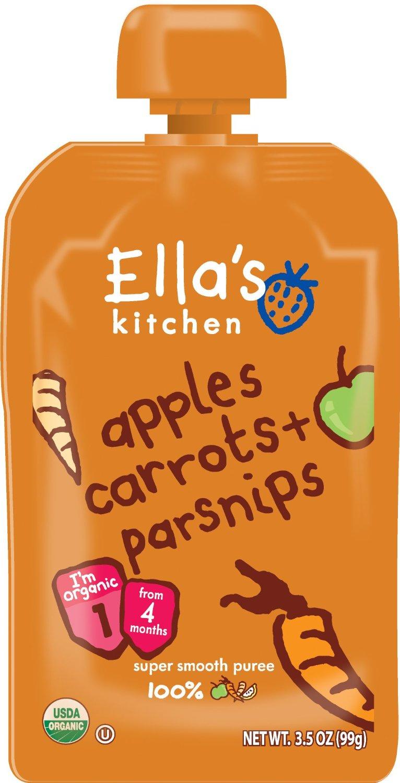 Ellas Kitchen Mor?tter ?pple Palsternacka 4+ M?n. Ekologisk - 120 Gram