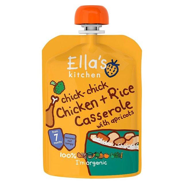 Ellas Kitchen Pur? med Kyckling, Ris och Gr?nsaker - 130 Gram