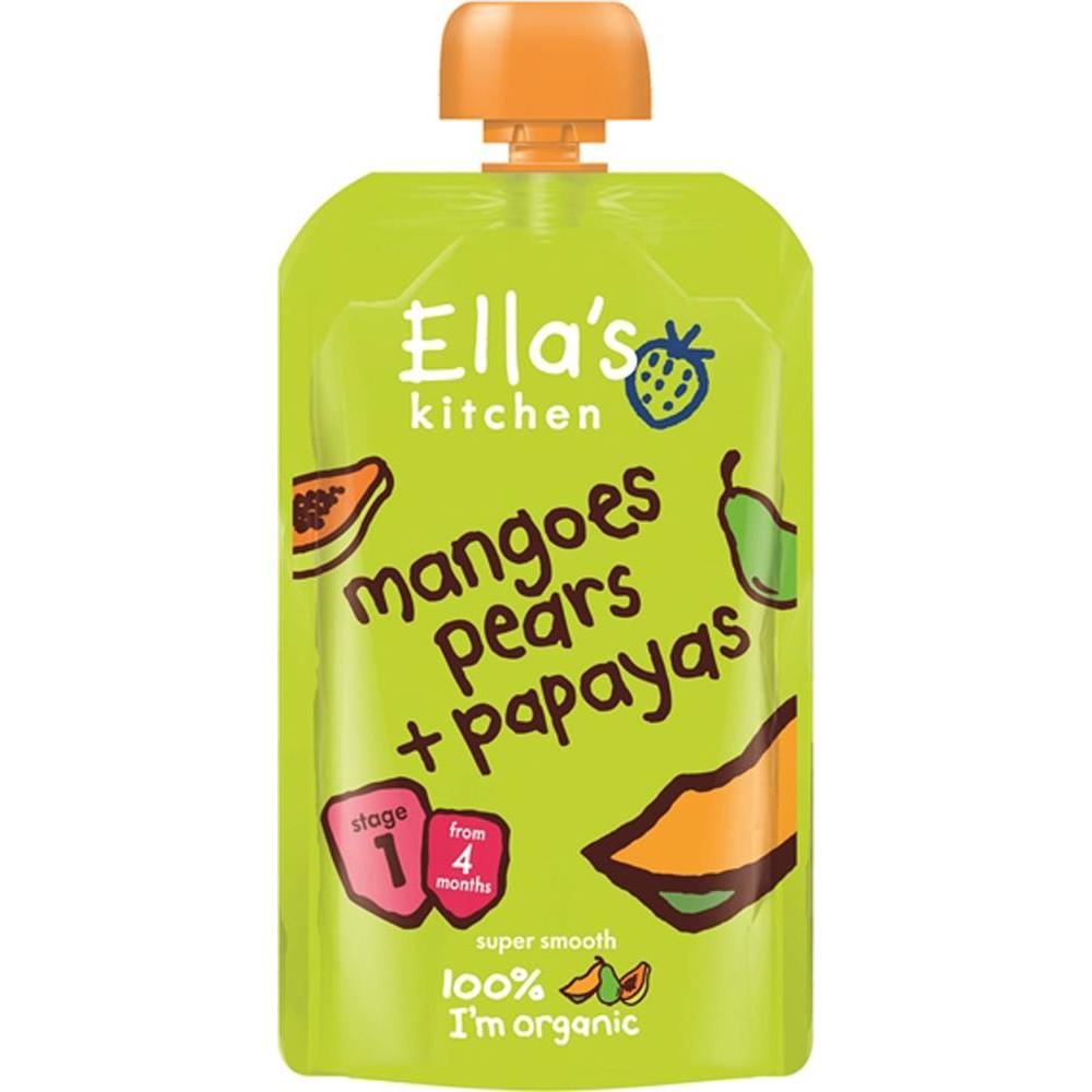 Ellas Kitchen Pur? Mango, P?ron och Papaya - 120 Gram