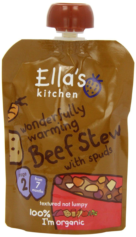 Ellas Kitchen Wonderfully Warming Beef Stew 7+ M?n. Eko - 130 Gram