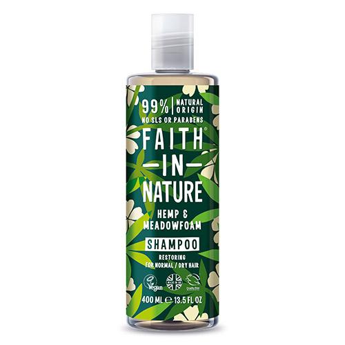 Faith in Nature Shampoo Hamp & Engrapgræs - 400 ml