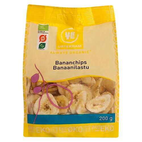 Urtekram Organic Bananchips - 200 Gram