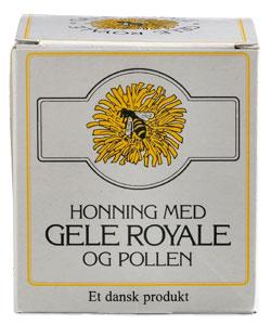 Honung Med Bidrottninggelé Och Pollen - 250 G