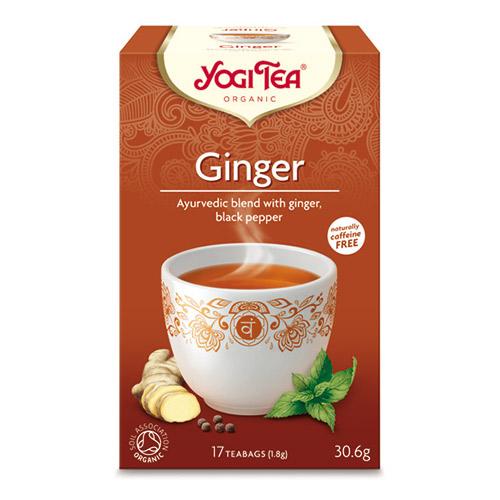 Yogi Tea Ginger Eko - 17 P?se