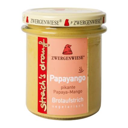 Zwergenwiese Smörgåspålägg Papaya Och Mango – 160 G