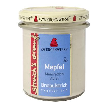 Zwergenwiese Pålägg Med Pepparrot Och Äpple Eko – 160 G