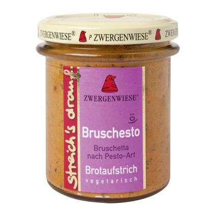 Zwergenwiese Pålägg Bruchetta Och Pesto Eko – 160 G