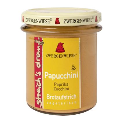 Zwergenwiese Bredbart Pålägg Med Paprika Och Squash Eko – 160 G