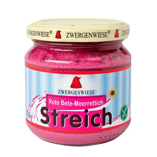 Zwergenwiese Smørepålæg veg.rødbede, peberrod streich – 180 G