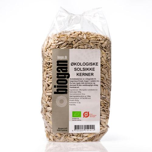 Biogan Solrosfrön Eko - 500 g