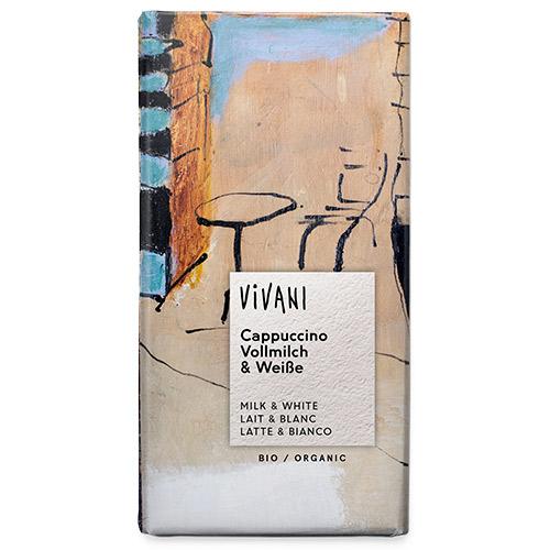 Vivani Cappuchino Choklad Ekologisk - 100 Gram