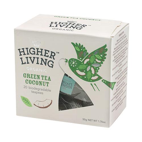 Higher Living Green Tea Coconut - 20 P?se