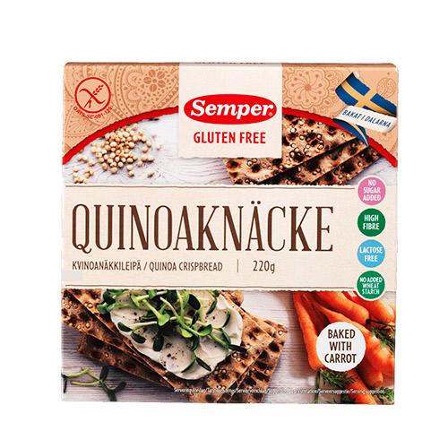 Semper Kn?kbr?d quinoa - 220 G