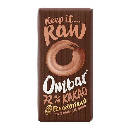 Bar Raw Choklad Ombar Ekologisk - 35 Gram - 1 Bar