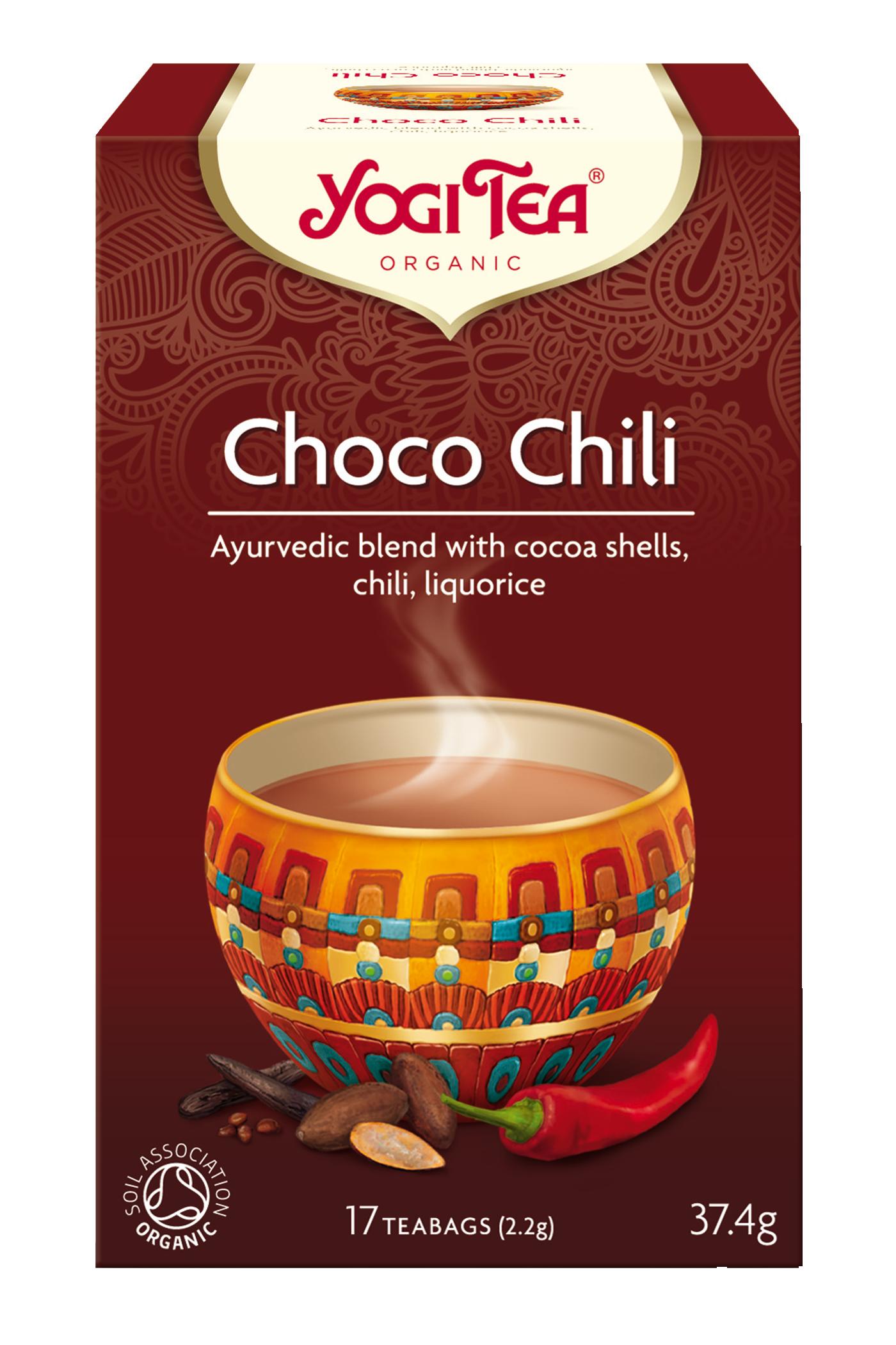 Yogi Tea Choco Chili Eko - 17 Påse