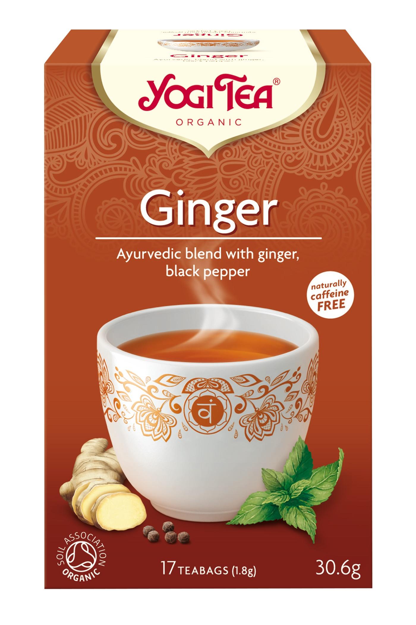 Yogi Tea Ginger Eko - 17 Påse