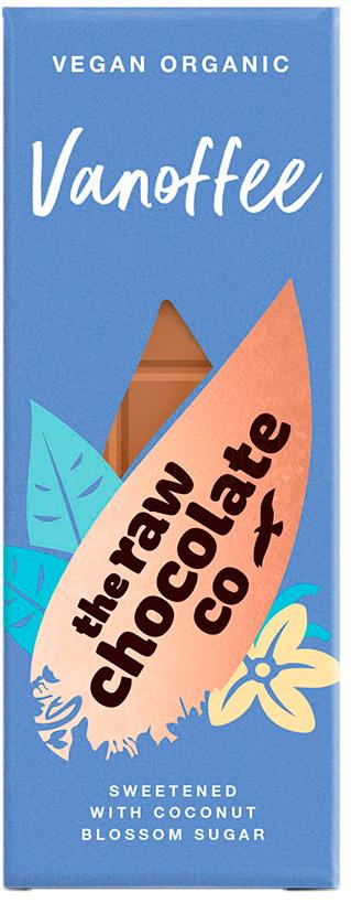 The Raw Chocolate Company Vanoffe Ljus Choklad - 44 Gram