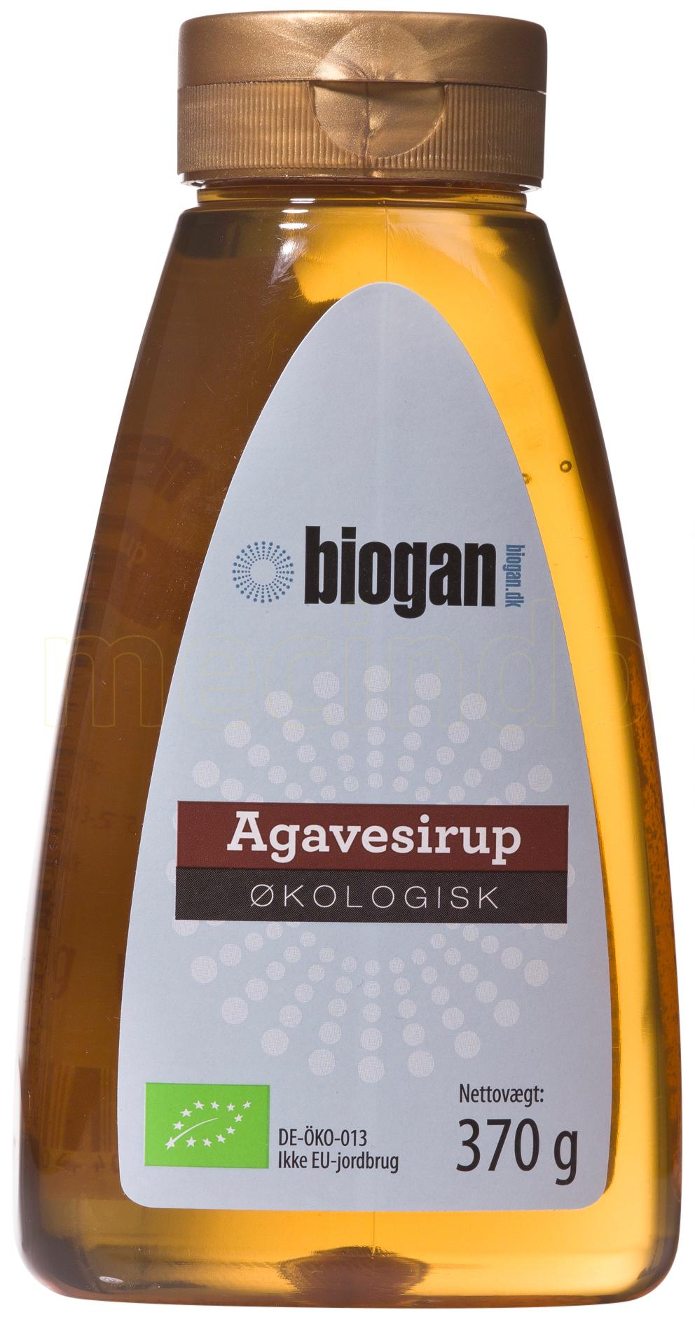 Biogan Agavesirap Ekologisk - 350 Gram