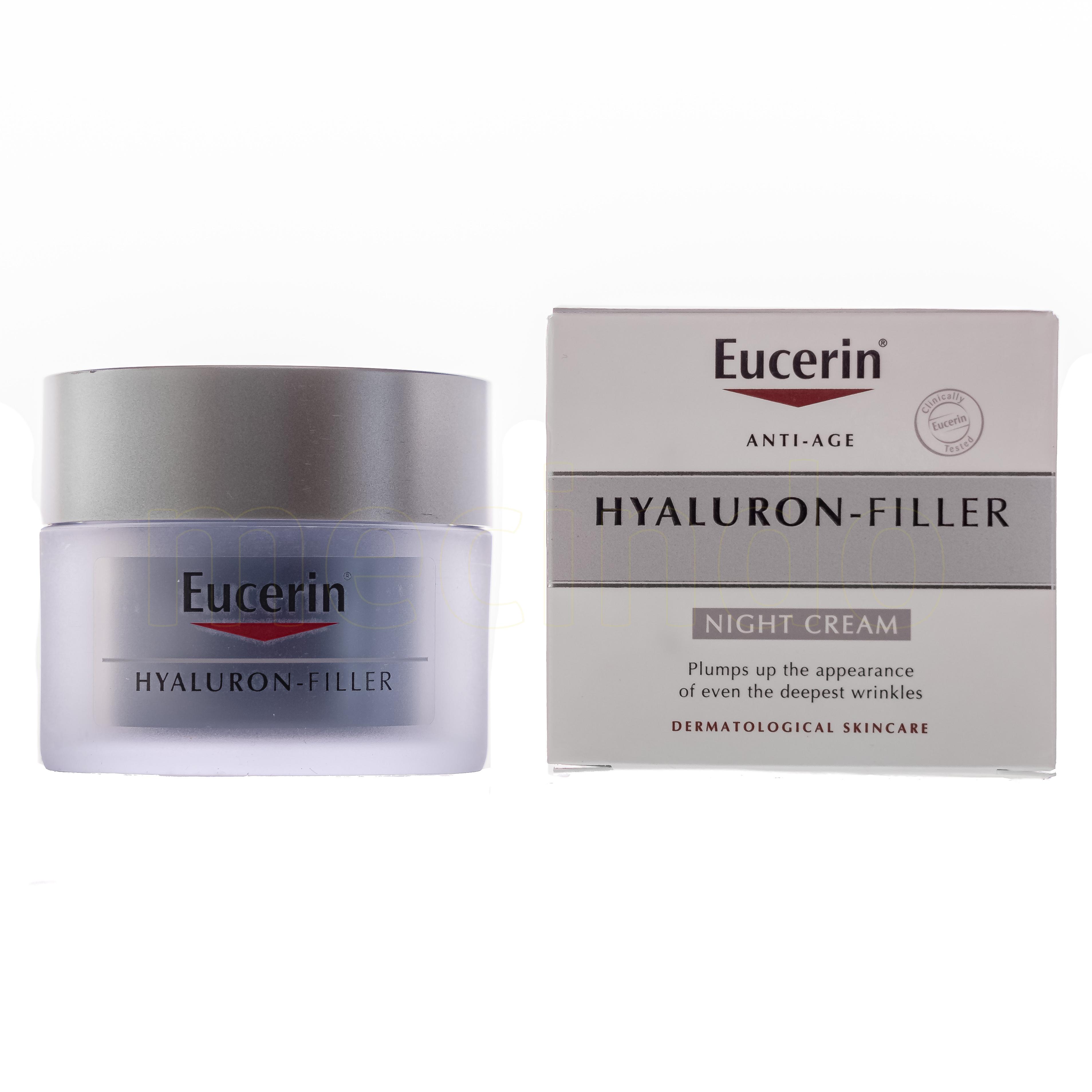 Eucerin Hyaluron Filler Night - 50 ml