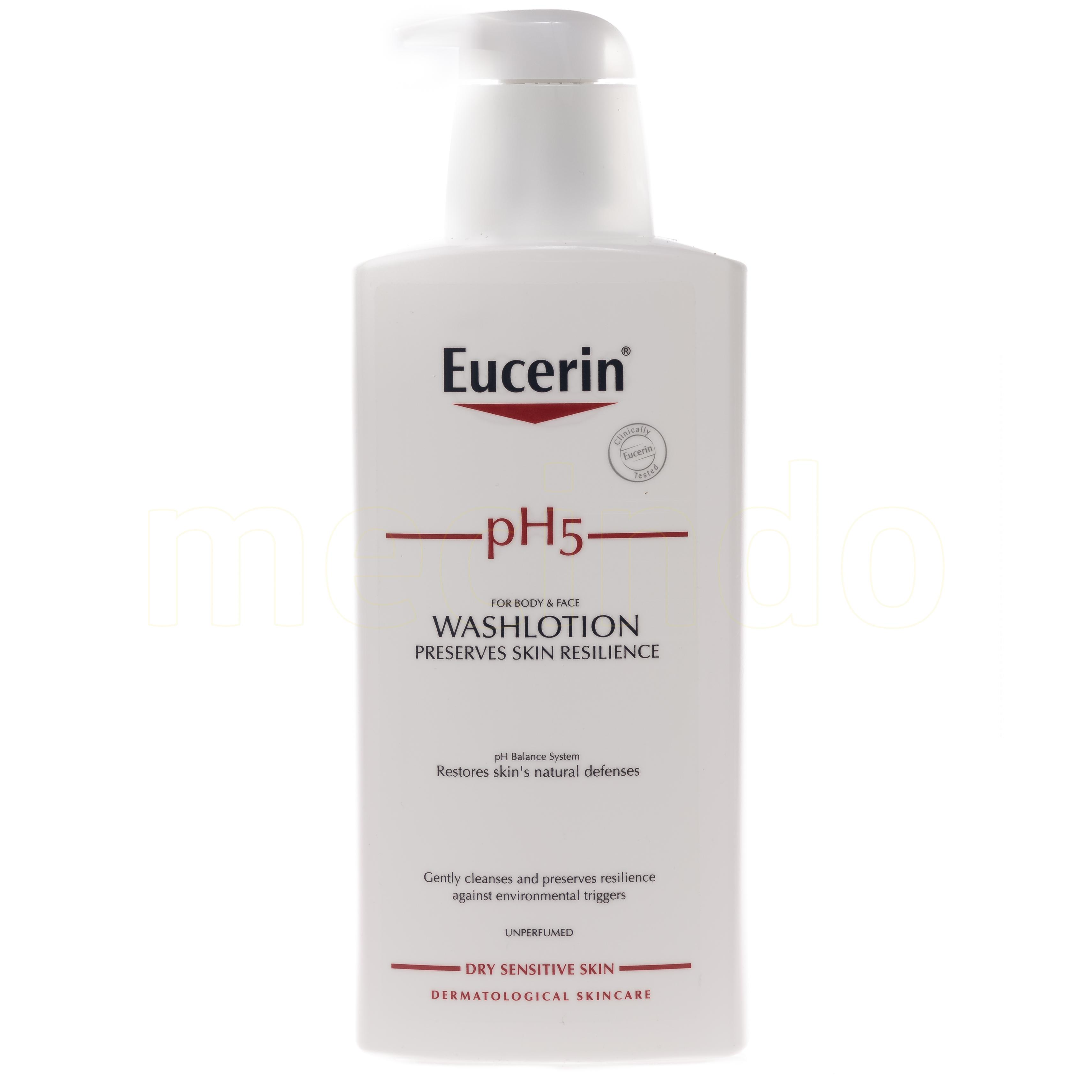 Eucerin Ph5 Washlotion Oparfymerad - 400 ml