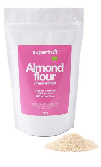 Superfruit Mandelmjöl – 500 Gram